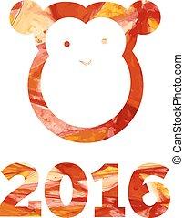 New year of monkey
