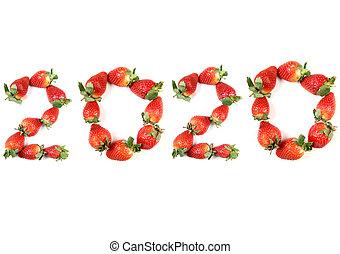New year of strawberries