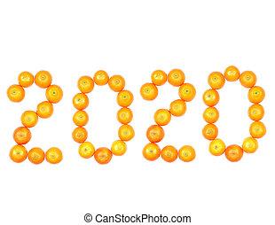 New year of tangerines