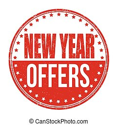 New Year offers stamp