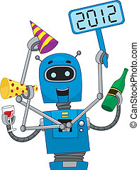 New Year Robot