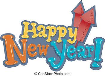 New Year Rockets