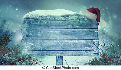 New Year shiny  background . Christmas background with sign
