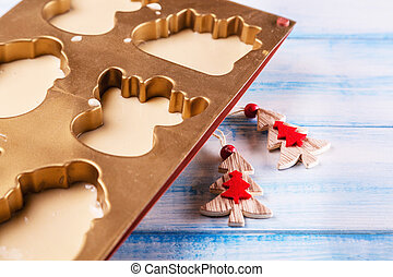 Christmas and New Year baking Homemade - New Year sweets do ...