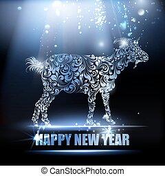 New year symbol.