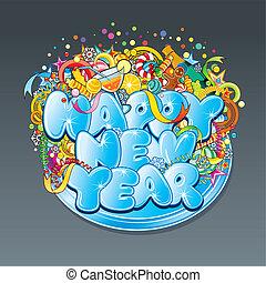 New Year Tag