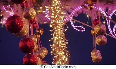 New Year toys and illumination