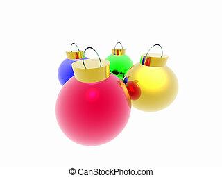 Christmas ornaments.
