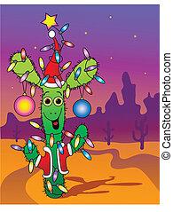New Year's cactus