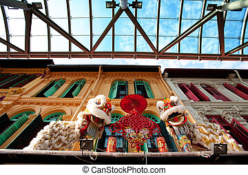 New Years Decoration - A chinese new years decoration in ...