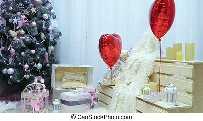 New Year's decorations for lovers