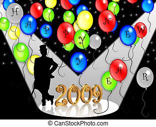 New Years Eve 2009 invita
