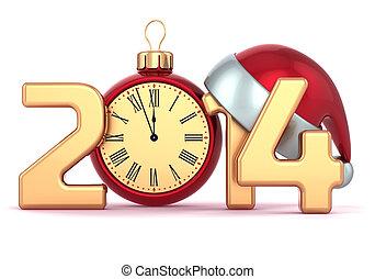 New Years Eve 2014 alarm clock - Happy New Year 2014 alarm...