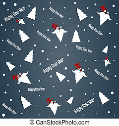 new year's Eve and Christmas pattern