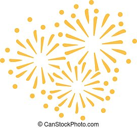 New years eve firework icon