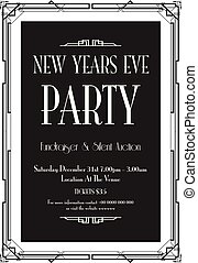 New Years eve party background