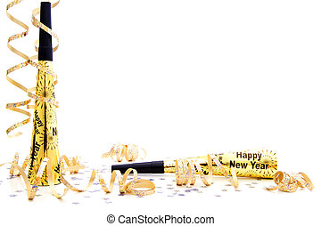 New Years Eve party border - New Years Eve party noisemaker...