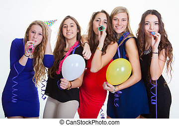 new years eve party celebrations