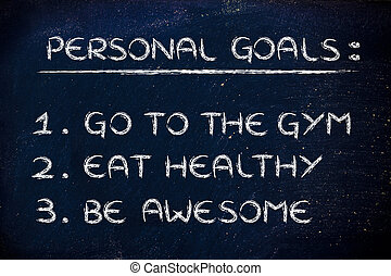new year's fitness resolutions: gym
