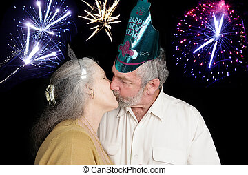 New Years Kiss at Midnight