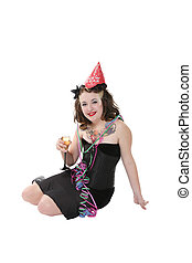New Year\\\'s Party Girl