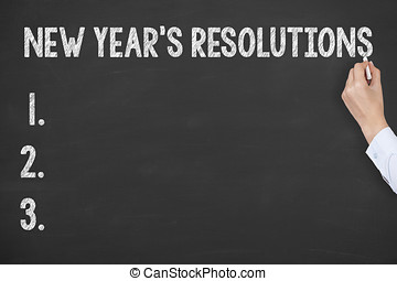 New Years Resolutions on Blackboard