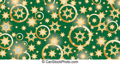 New Year's theme with stars