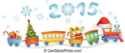New Year's train