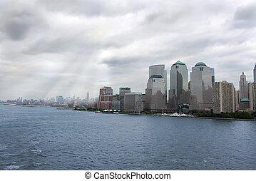 new york, épületek