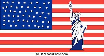 New York and American symbol