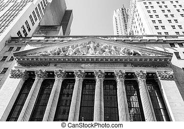 new york börse, gebäude