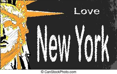 New York Blackboard