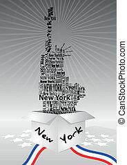 New York box