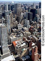 New York City Aerial panoramic view