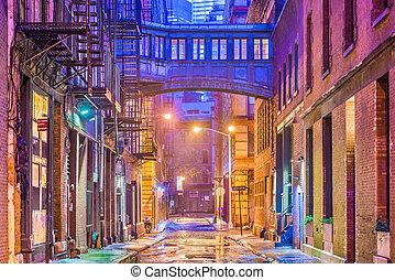 New York City Alleyway
