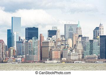 Lower Manhattan - New York City at Lower Manhattan