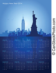 New York City Calendar