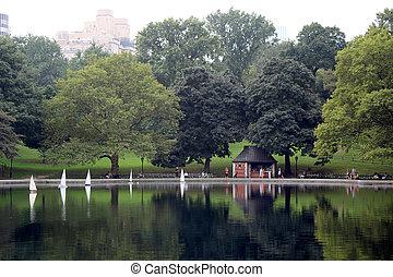 New York City Central Park Lake