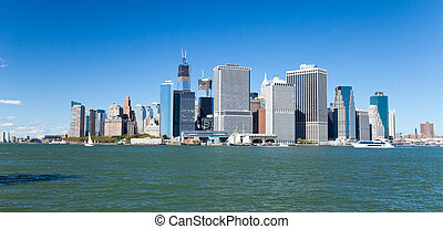 New York City Downtown skyline