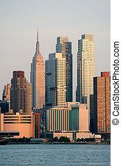 New York City Empire State Building in Midtown Manhattan