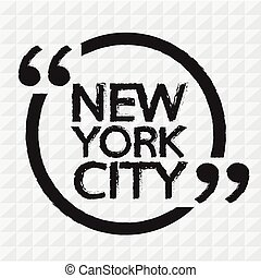 NEW YORK CITY Illustration Design