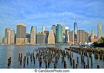 New York City Manhattan Downtown