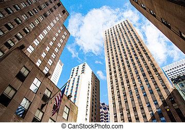 New York City Manhattan Skyline, U.