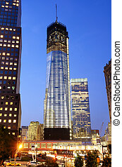One World Trade Center - NEW YORK CITY MAY 16, 2012:...