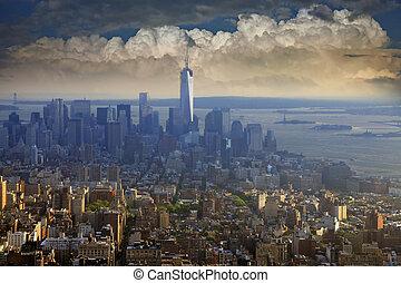 New York City - NEW YORK CITY - MAY 17: New York City...