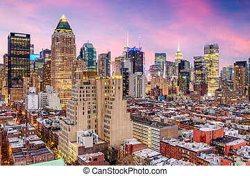 New York City Midtown Cityscape - New York City, USA midtown...