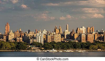 New York City NYC Manhattan Downtown Skyline