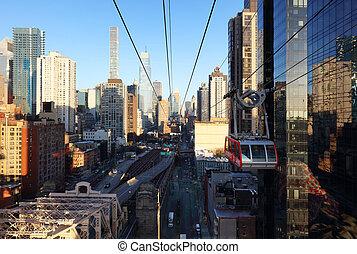 New York City, Queensboro Bridge, USA