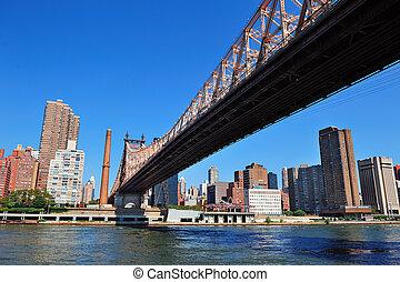 New York City Queensborough Bridge