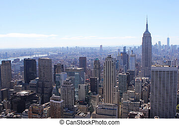 New York City Skyline with the Empire State Building